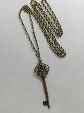 Collar de bisutería color principal bronce de aleación