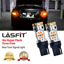 2x LASFIT 7440 NO Hyper Flash LED Rear Turn Signal Light for Nissan Toyota Honda