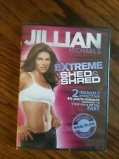 Jillian Michaels Extreme Shed & Shred  (DVD, 2011)  NEW