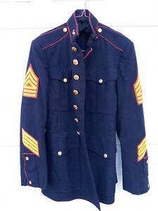 WW2 USMC Marine Corps Dress Blues coat