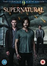 SUPERNATURAL Stagione 9 Serie completa BOX 6 DVD in Inglese NEW .cp