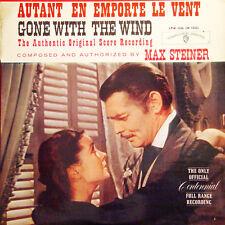 AUTANT EN EMPORTE LE VENT Max Steiner FR Press Warner LPW 1506 1961 LP
