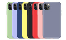 Silicon Gel Candy Color Cover Case For Apple Iphone 12 Pro Max 11 X Xr Xs 6 7 8