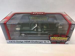 Greenlight Dodge HEMI Challenger R/T MECUM ACTIONS 1/18 12841