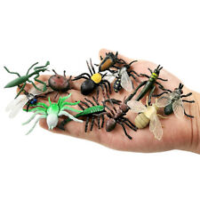 12pcs Insect Arthropod Animal Figurines Children Toys Real Figure Free Shipping
