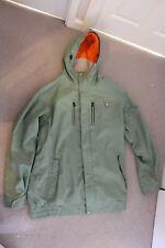 RIDE snowboard jacket LARGE. Lumo Inside Khaki Green