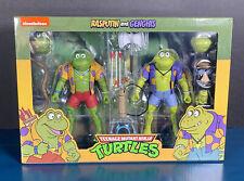 2021 NECA Teenage Mutant Ninja Turtles RASPUTIN & GENGHIS Action Figure 2-Pack
