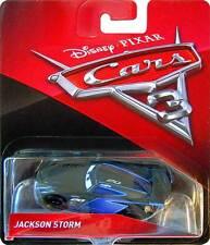 Disney Pixar Cars 3 Jackson Storm Diecast Mattel 1:55 Scale New 2017