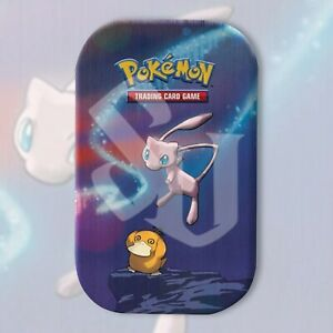 Pokemon TCG: MEW KANTO POWER Mini Tin | FACTORY SEALED