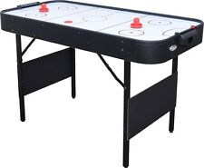 Folding 4' Air Hockey Table Air Hockey with Pucks Included Indoor Game Air Game