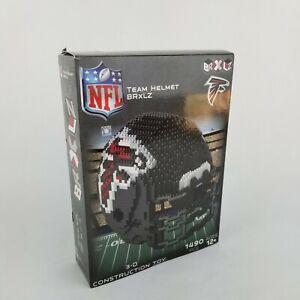 NEW BRXLZ NFL Team Helmet Atlanta Falcons 3D 3-D Construction Toy 1490 Pcs