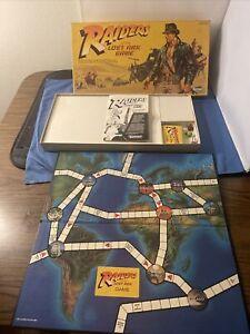 Vintage Indiana Jones Raiders of the Lost Ark Board Game 1981 Kenner Parts As-Is
