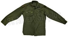 US ARMY VIETNAM ERA SHIRT UTILITY COTTON - SATEEN OG 107 - MED OR LRG - 456R30C