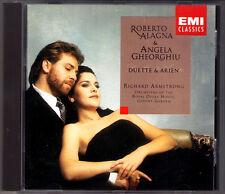 Roberto ALAGNA & Angela GHEORGHIU Duets Arias ARMSTRONG EMI CD Offenbach Puccini