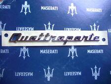 Schriftzug Quattroporte Emblem ORIGINAL MASERATI  neues Modell - ab 2013 Badge