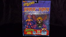 SPIDER MAN SPIDER FORCE WASP TRANSFORMING INSECT ARMOR 1997