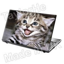 Laptop piel cubierta Notebook Sticker Decal Lindo Gato