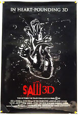 SAW 3D DS ROLLED ADV ORIG 1SH MOVIE POSTER HORROR GORE (2010)