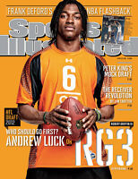 April 23, 2012 Robert Griffin, III, Football, Baylor Bears Sports Illustrated A