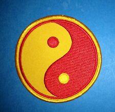Vintage Yin Yang Judo MMA  Jiu Jitsu Karate Tae Kwon Do Martial Arts Patch 453