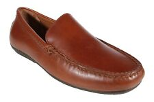Polo Ralph Lauren Men's Shoes Redden Casual Driving Leather Loafers Polo Tan