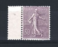 """FRANCE  STAMP TIMBRE N° 133 """" SEMEUSE LIGNEE 30c LILAS 1903 """" NEUF xx LUXE  R938"""