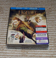 *Target Exclusive* Hobbit: Desolation of Smaug Blu-Ray/DVD + Legolas LEGO! NEW!