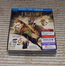 *Target Exclusive* Hobbit: Desolation of Smaug Blu-Ray/DVD + Legolas LEGO! NEW!