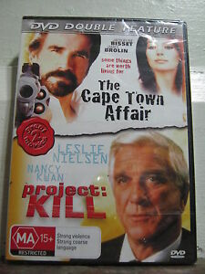 The Cape Town Affair + Project Kill - Brand New & Sealed - Region 4 - DVD