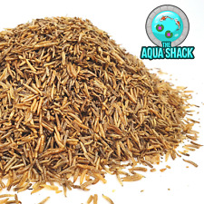 Natural Dried Calci Worms Black Soldier Fly Larvae | Koi Treats Garden Pond Fish