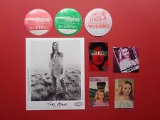 TORI AMOS,Promo Photo,7 RARE Backstage passes Various Tour Originals
