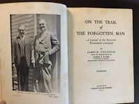 Jounalist Guilfoyle Journals Roosevelt's 1932 Presidential Campaign SIGNED BOOK