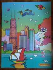 Peter Max Chicago Poster Print