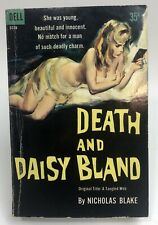 DEATH AND DAISY BLAND Nicholas Blake DELL gga MYSTERY