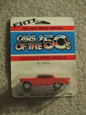 ERTL Cars Of The 50's Die-Cast 1957 '57 Chevy Red #1636 1:64 MOC
