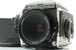 【 Near MINT+  SN/ 158xxx 】Zenza Bronica S2A Late Model w/ 75mm f/ 2.8 from JAPAN