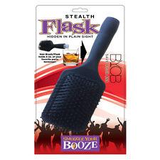 Smuggle Booze Hairbrush Flask - FREE U.S. First Class Shipping - NEW