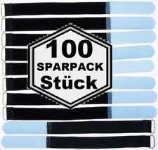 50 Velcro Fascette per cavi 300 x 25 mm BLU CAVO nastro di velcro Cavo Velcro nastro di velcro M PONTICELLO