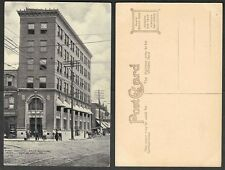 Old Illinois Postcard - East St. Louis - First National Bank Building