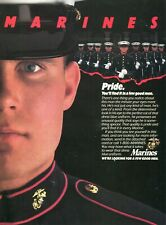 1988 Print Ad of US Marines Recruiting PRIDE We're looking for a few good men