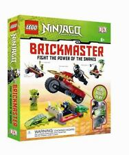 Lego Brickmaster Ninjago Book & Pieces Minifig : Fight the Power of the Snakes
