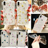Sweet Fashion Real Dried Pressed Flowers Phone Case For iPhone X XS MAX XR 8 7 6