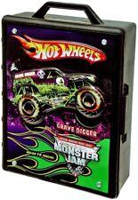 Hot Wheels Monster Jam Truck Case Car Cars Trucks Storage 1:64 Grave Digger Hand