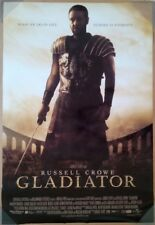 GLADIATOR MOVIE POSTER 2 Sided ORIGINAL INTL ROLLED 27x40 RUSSELL CROWE