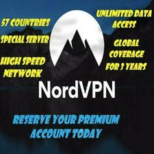 Nord Unlimited Vpn Premium Service - 2 Year Access -57 Countries