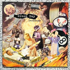 GREEN DAY insomniac LP IMPORT 1.Press 95 Punk Bad Religion NOFX Pennywise RANCID