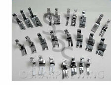 25 PRESSER FOOT SET - HIGH SHANK - JUKI BROTHER SINGER CONSEW MITSUBISHI TACSEW