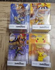 King Dedede Pikachu Fox Captain Falcon  Nintendo Amiibo Super Smash Bros NEW!!!!