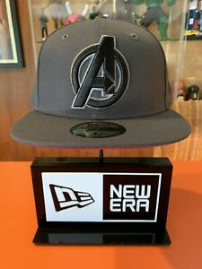 New Era Marvel Avengers Logo Rare 59FIFTY Fitted Hat 7 1/2