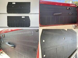 Grey ABS Subaru Brumby Brat 1978-1981 1600 Ute Full Height Rugged Door Panel